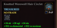 Knotted Werewolf Hair Circlet
