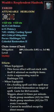 Wraith's Resplendent Hauberk