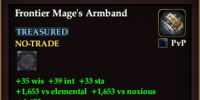 Frontier Mage's Armband