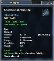 Shortbow of Pouncing