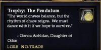 Trophy: The Pendulum