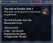 The Fall of Erudin- Part 1