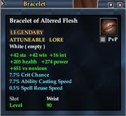 Bracelet of Altered Flesh