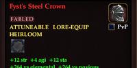 Fyst's Steel Crown