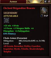 Orclord Brigandine Bracers