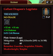 Gallant Dragoon's Legplates