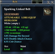 Sparking Linked Belt