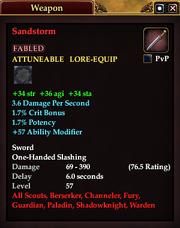 Sandstorm (Sword)