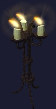 A citizen's floor lamp (Visible)