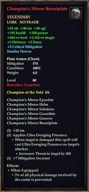 Champion's Mirror Breastplate