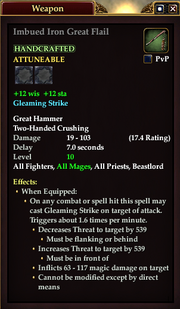 Imbued Iron Great Flail