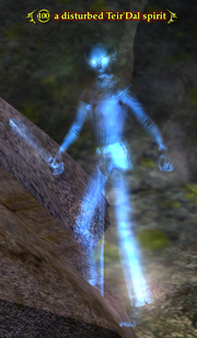 A disturbed Teir'Dal spirit