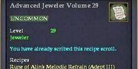 Advanced Jeweler Volume 29