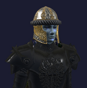 Customized Hoo'Loh's Faithful Helm (Equipped)