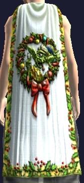 Festive Gigglegibber Cloak (Equipped)