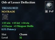 Orb of Lesser Deflection