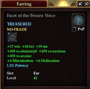 Facet of the Frozen Voice