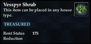 Vesspyr Shrub