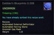 Dabbler's Blueprints 0.008