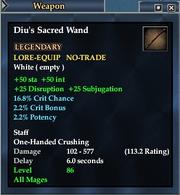 Diu's Sacred Wand