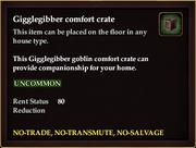 Gigglegibber comfort crate