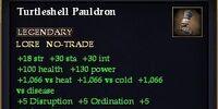 Turtleshell Pauldron