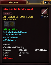 Blade of the Tundra Scout