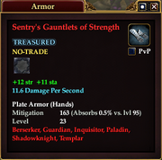 Sentry's Gauntlets of Strength