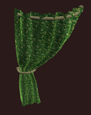 Flowered Green Curtain Left.png