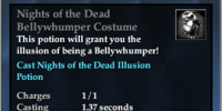 Nights of the Dead Bellywhumper Costume