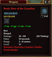 Runic Bow of the Guardian