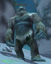 A tundra beast