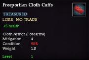 Freeportian Cloth Cuffs