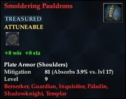 Smoldering Pauldrons