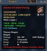 Satchel of Untold Daring
