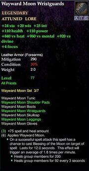 Wayward Moon Wristguards