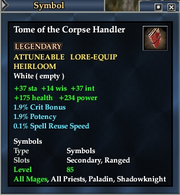 Tome of the Corpse Handler