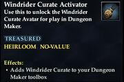 Windrider Curate Activator