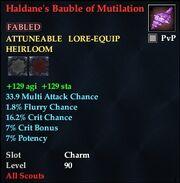 Haldane's Bauble of Mutilation