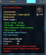Ice Linked Gloves