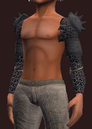 Etherhorde ringmail shoulderpads (Equipped)