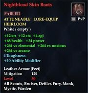 Nightblood Skin Boots