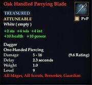 OakHandledParryingBlade