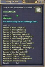 Advanced Alchemist Volume 36