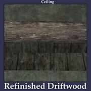 Ceiling Refinished Driftwood