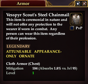 Vesspyr Scout's Steel Chainmail