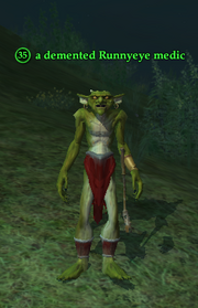 A demented Runnyeye medic