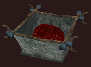 Bloodstained Meat Trough (Visible)