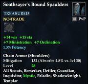 Soothsayer's Bound Spaulders