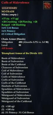 Cuffs of Malevolence